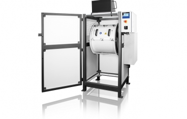 New TM 500 drum mill for pulverizing large sample quantities