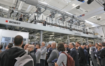 Bobst Italia unveils coating excellence line and dedicated technology center