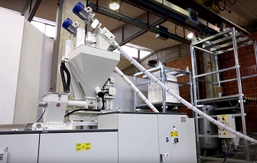 K 2019 stream running blown film extrusion line