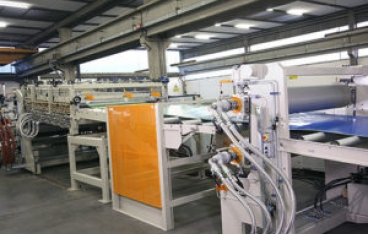 Line to produce HDPE rigid sheet from Union