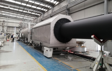Successful large-diameter pipe installation in  Mexico