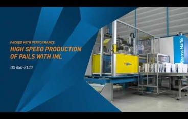 Packed with performance: High speed production of pails with IML
