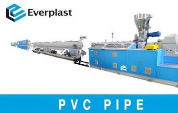EMD 90 PVC Pipe Extrusion Line 75mm~160mm