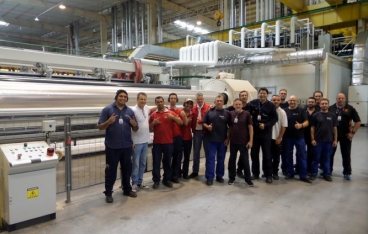 Brückner: Complete commissioning of third-party extrusion line in Brazil