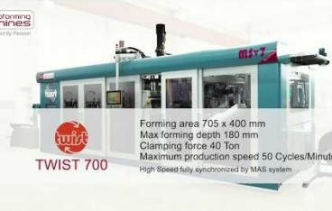 WM Thermoforming Machines - TWIST 700