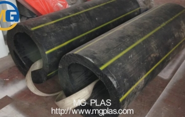 single shaft shredder for thick HDPE plastic pipes