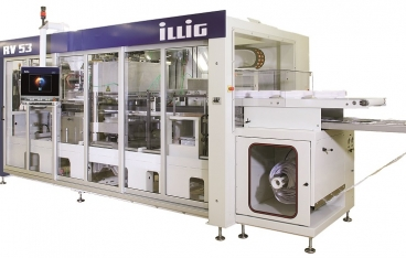 Illig RV 53d pressure former for production of PP packaging
