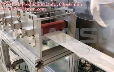 KN95 Mask Production Line , 60pcs/min