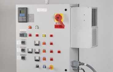 Screen changer controls system from High-Technology Corp.