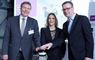 Evonik opens a new silicone production facility in Geesthacht, Germany
