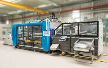The next generation of the KTR 5.2 Speed cup-forming system from Kiefel
