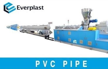 EMD-90 Parallel Type Twin Screw PVC Pipe Extrusion Machine Line