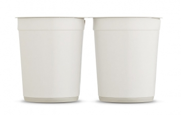 Greiner Packaging tests cups made from 100% r-PS