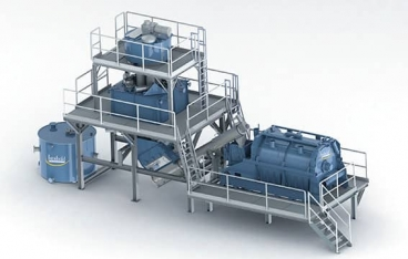 Herbold hot washing systems as a key to reliable high quality in plastic recycling