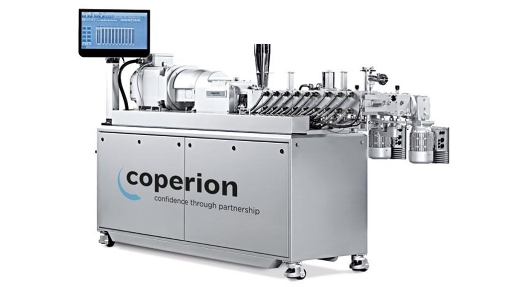 coperion zsk26mc twin screw extruder