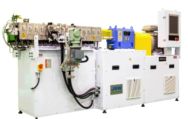 TEX25αIII high-performance twin-screw extruder from JSW