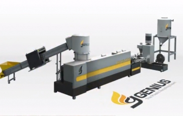 Krieger series plastic recycling machine from Genius