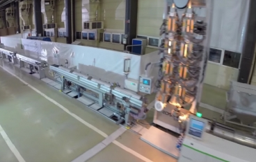 Complete PE-Xa extrusion line from battenfeld-cincinnati