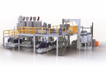 Cost-effective coextrusion technology for profile and sheeting