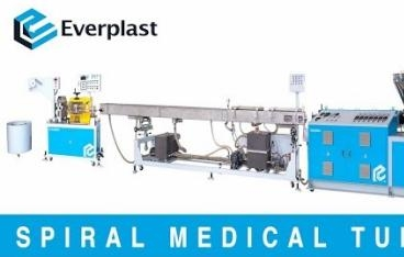 EMS 45 Spiral Medical Tube Machine Line-Dual Output