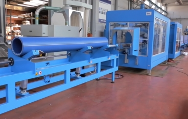 Extrusion lines for big size multilayer PPR pipes from Amut