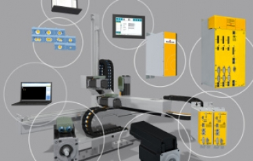 Automation and Life Cycle Management for Converting Machines from Baumüller