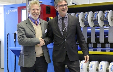 KAMPF delivers the 1,000th slitting machine type Conslit
