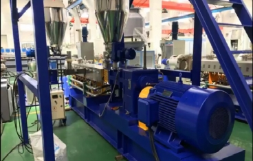 Twin screw compounding extruder from Kerke Extrusion
